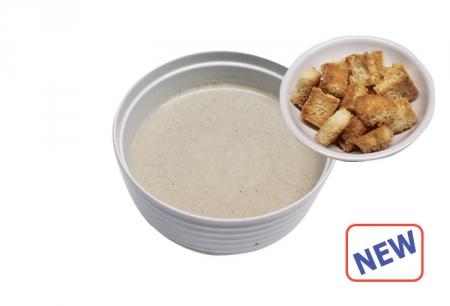 Крем суп грибной